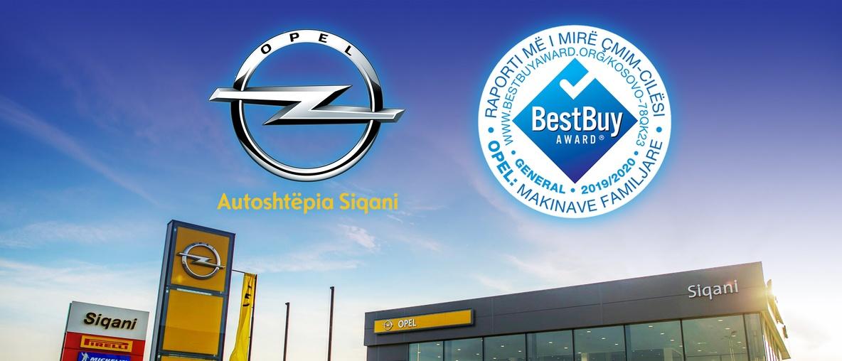 Opel Best Buy award