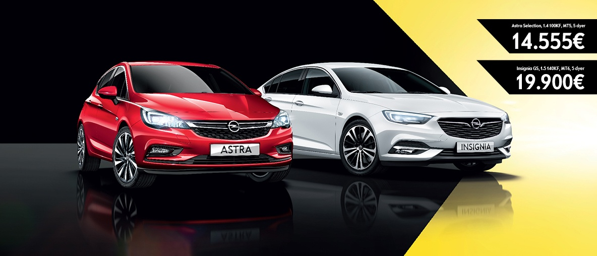 Opel Astra Opel Insignia