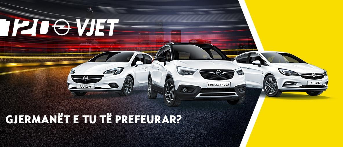120 vjet Opel